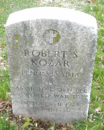 KOZAR, ROBERT  S. - Montgomery County, Ohio | ROBERT  S. KOZAR - Ohio Gravestone Photos