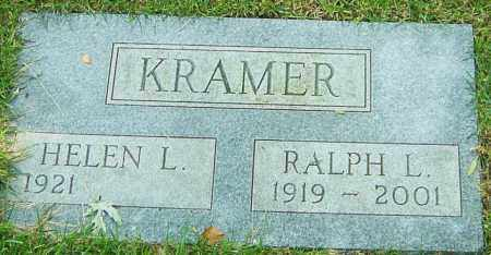 KRAMER, RALPH L - Montgomery County, Ohio | RALPH L KRAMER - Ohio Gravestone Photos