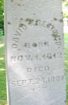 KREITZER, DAVID - Montgomery County, Ohio | DAVID KREITZER - Ohio Gravestone Photos