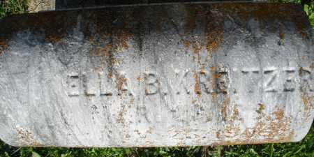 KREITZER, ELLA B. - Montgomery County, Ohio | ELLA B. KREITZER - Ohio Gravestone Photos