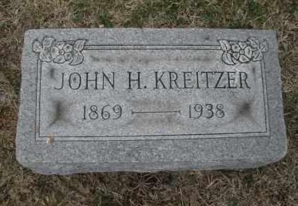 KREITZER, JOHN H. - Montgomery County, Ohio | JOHN H. KREITZER - Ohio Gravestone Photos