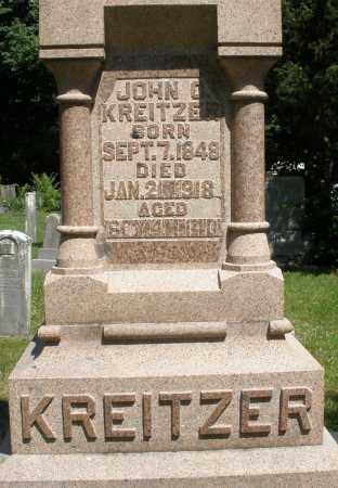 KREITZER, JOHN - Montgomery County, Ohio | JOHN KREITZER - Ohio Gravestone Photos