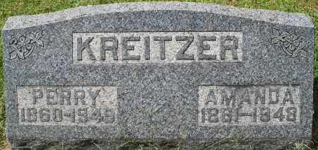 KREITZER, PERRY - Montgomery County, Ohio | PERRY KREITZER - Ohio Gravestone Photos