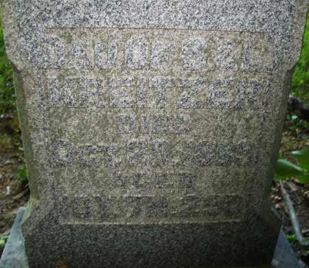 KREITZER, REBECCA - Montgomery County, Ohio | REBECCA KREITZER - Ohio Gravestone Photos