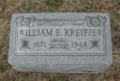 KREITZER, WILLIAM E. - Montgomery County, Ohio | WILLIAM E. KREITZER - Ohio Gravestone Photos