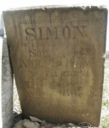 KRIDER, SIMON - Montgomery County, Ohio | SIMON KRIDER - Ohio Gravestone Photos
