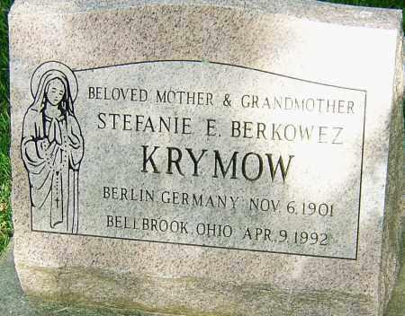 KRYMOW, STEFANIE - Montgomery County, Ohio | STEFANIE KRYMOW - Ohio Gravestone Photos