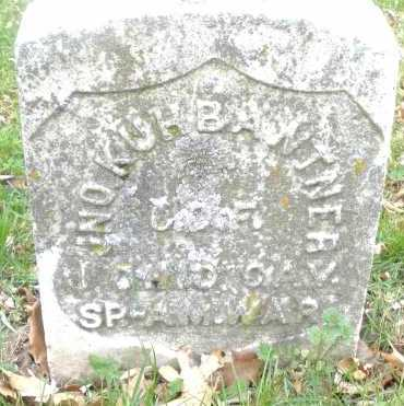 KUHBANTNER, JNO - Montgomery County, Ohio | JNO KUHBANTNER - Ohio Gravestone Photos