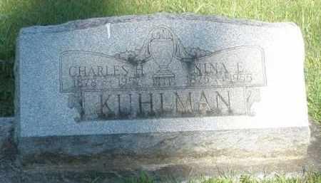 KUHLMAN, NINA E. - Montgomery County, Ohio | NINA E. KUHLMAN - Ohio Gravestone Photos