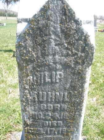 KUHNLE, PHILIP - Montgomery County, Ohio   PHILIP KUHNLE - Ohio Gravestone Photos