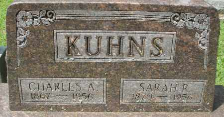 KUHNS, SARAH R. - Montgomery County, Ohio | SARAH R. KUHNS - Ohio Gravestone Photos