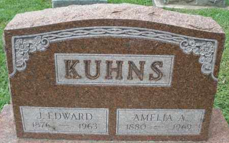 KUHNS, J. EDWARD - Montgomery County, Ohio | J. EDWARD KUHNS - Ohio Gravestone Photos