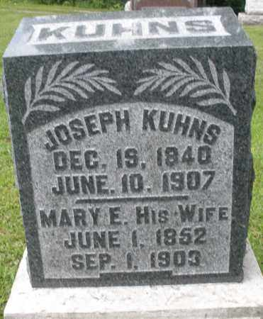 KUHNS, MARY E. - Montgomery County, Ohio | MARY E. KUHNS - Ohio Gravestone Photos