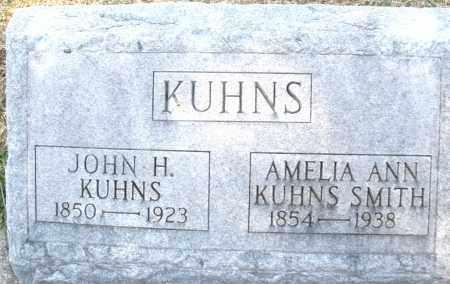 KUHNS, AMELIA ANN - Montgomery County, Ohio | AMELIA ANN KUHNS - Ohio Gravestone Photos