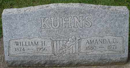 KUHNS, WILLIAM H. - Montgomery County, Ohio | WILLIAM H. KUHNS - Ohio Gravestone Photos