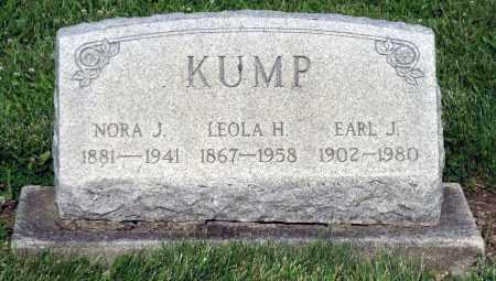 KUMP, LEOLA H. - Montgomery County, Ohio | LEOLA H. KUMP - Ohio Gravestone Photos