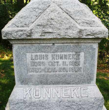 KUNNEKE, LOUIS - Montgomery County, Ohio | LOUIS KUNNEKE - Ohio Gravestone Photos