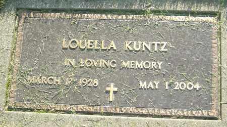 DEBOLD KUNTZ, LOUELLA - Montgomery County, Ohio | LOUELLA DEBOLD KUNTZ - Ohio Gravestone Photos