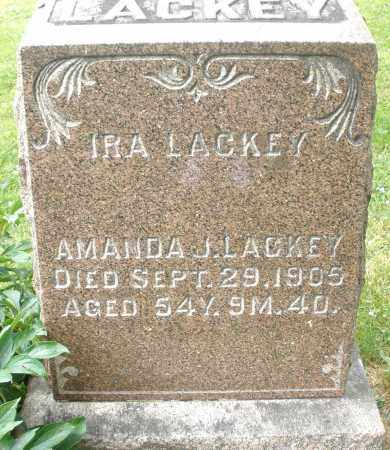 LACKEY, AMANDA J. - Montgomery County, Ohio | AMANDA J. LACKEY - Ohio Gravestone Photos