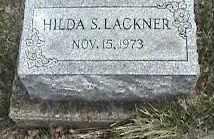 LACKNER, HILDA S. - Montgomery County, Ohio | HILDA S. LACKNER - Ohio Gravestone Photos