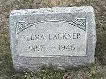 LACKNER, SELMA - Montgomery County, Ohio | SELMA LACKNER - Ohio Gravestone Photos