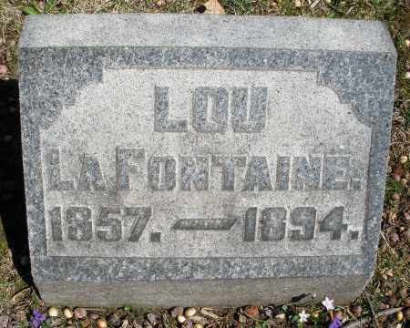 LAFONTAINE, LOU - Montgomery County, Ohio | LOU LAFONTAINE - Ohio Gravestone Photos