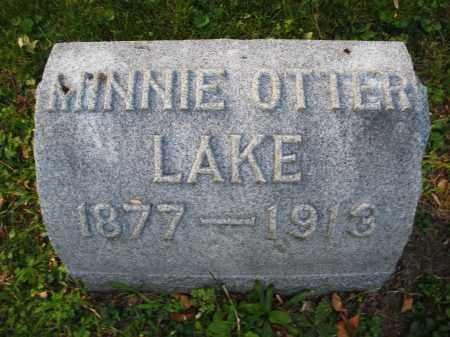 OTTER LAKE, MINNIE - Montgomery County, Ohio | MINNIE OTTER LAKE - Ohio Gravestone Photos