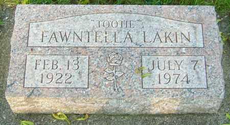 LAKIN, FAWNTELLA - Montgomery County, Ohio | FAWNTELLA LAKIN - Ohio Gravestone Photos