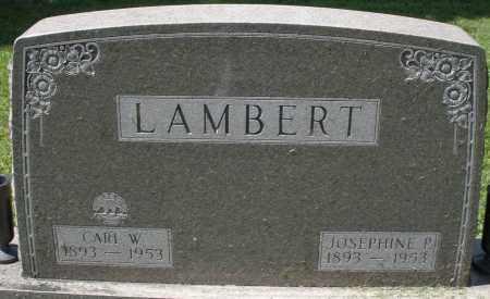 LAMBERT, CARL W. - Montgomery County, Ohio | CARL W. LAMBERT - Ohio Gravestone Photos