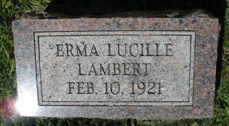 LAMBERT, ERMA LUCILLE - Montgomery County, Ohio | ERMA LUCILLE LAMBERT - Ohio Gravestone Photos
