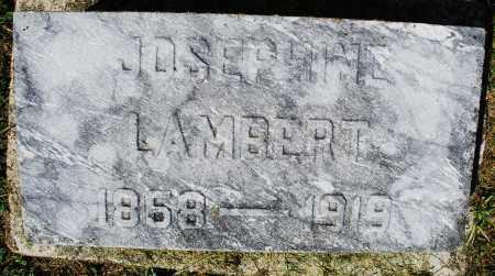 LAMBERT, JOSEPHINE - Montgomery County, Ohio | JOSEPHINE LAMBERT - Ohio Gravestone Photos