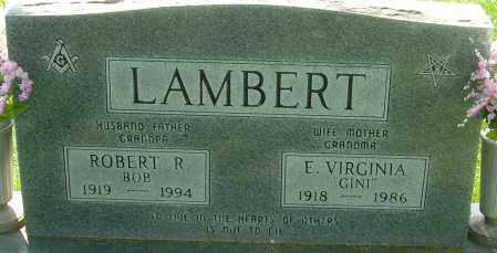 LAMBERT, ROBERT - Montgomery County, Ohio | ROBERT LAMBERT - Ohio Gravestone Photos