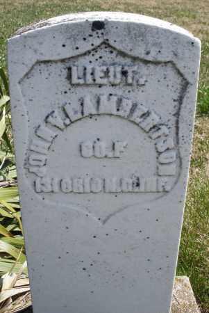LAMBERTSON, JOHN V. - Montgomery County, Ohio | JOHN V. LAMBERTSON - Ohio Gravestone Photos