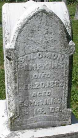 LAMPKINS, SOLOMON - Montgomery County, Ohio   SOLOMON LAMPKINS - Ohio Gravestone Photos