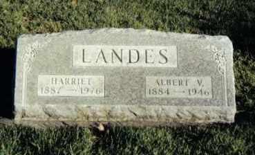 LANDES, ALBERT V. - Montgomery County, Ohio | ALBERT V. LANDES - Ohio Gravestone Photos