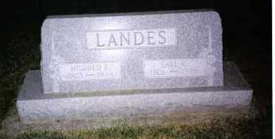 LANDES, MILDRED R. - Montgomery County, Ohio | MILDRED R. LANDES - Ohio Gravestone Photos