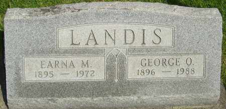 LANDIS, EARNA - Montgomery County, Ohio | EARNA LANDIS - Ohio Gravestone Photos