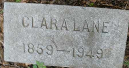 LANE, CLARA - Montgomery County, Ohio | CLARA LANE - Ohio Gravestone Photos