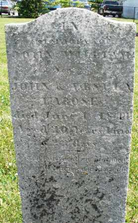 LAROSE, JOHN WILLIAM - Montgomery County, Ohio | JOHN WILLIAM LAROSE - Ohio Gravestone Photos