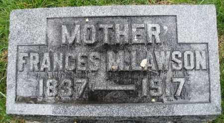 LAWSON, FRANCES M. - Montgomery County, Ohio | FRANCES M. LAWSON - Ohio Gravestone Photos