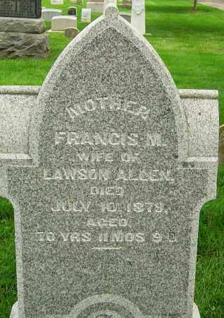 LAWSON, FRANCIS M - Montgomery County, Ohio | FRANCIS M LAWSON - Ohio Gravestone Photos