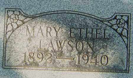 LAWSON, MARY ETHEL - Montgomery County, Ohio | MARY ETHEL LAWSON - Ohio Gravestone Photos