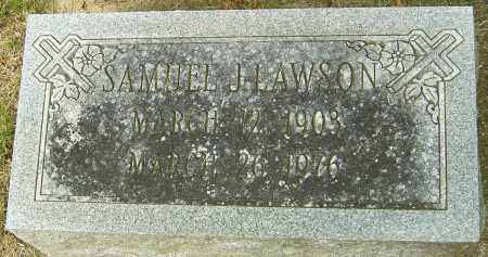 LAWSON, SAMUEL J - Montgomery County, Ohio | SAMUEL J LAWSON - Ohio Gravestone Photos