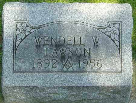 LAWSON, WENDELL - Montgomery County, Ohio | WENDELL LAWSON - Ohio Gravestone Photos