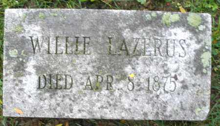 LAZERUS, WILLIE - Montgomery County, Ohio | WILLIE LAZERUS - Ohio Gravestone Photos