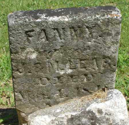 LEAR, FANNY - Montgomery County, Ohio | FANNY LEAR - Ohio Gravestone Photos