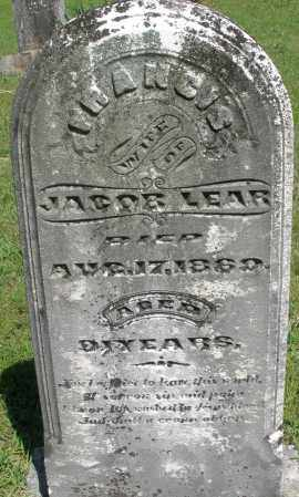 LEAR, FRANCIS - Montgomery County, Ohio | FRANCIS LEAR - Ohio Gravestone Photos