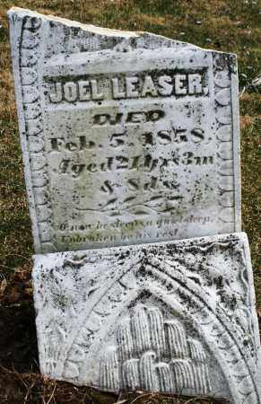 LEASER, JOEL - Montgomery County, Ohio | JOEL LEASER - Ohio Gravestone Photos
