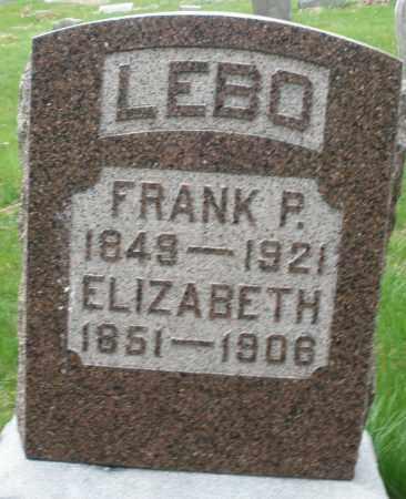 LEBO, FRANK P. - Montgomery County, Ohio | FRANK P. LEBO - Ohio Gravestone Photos
