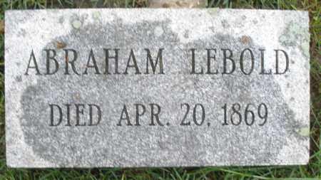 LEBOLD, ABRAHAM - Montgomery County, Ohio | ABRAHAM LEBOLD - Ohio Gravestone Photos